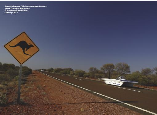Солнечные ралли по Австралии